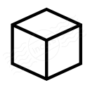 Object Cube Icon 128x128