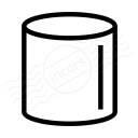 Object Cylinder Icon 128x128