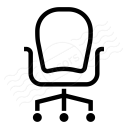 Office Chair Icon 128x128