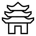 Pagoda Icon 128x128