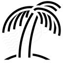 Palm Tree Icon 128x128