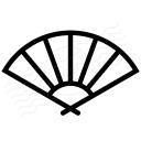 Paper Fan Icon 128x128