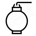 Paper Lantern Icon 128x128