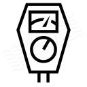 Parking Meter Icon 128x128