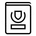 Passport Icon 128x128