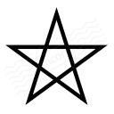 Pentagram Icon 128x128