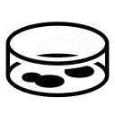 Petri Dish Icon 128x128