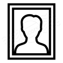 Photo Portrait Icon 128x128