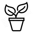 Plant Icon 128x128