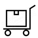 Platform Truck Box Icon 128x128