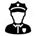 Policeman Icon 128x128