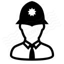 Policeman Bobby Icon 128x128