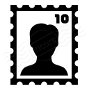 Postage Stamp Icon 128x128