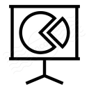 Presentation Chart Icon 128x128