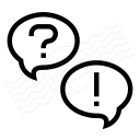 Question And Answer Icon 128x128