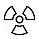 Radiation Icon 128x128