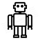 Robot Icon 128x128