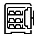 Safe Open Full Icon 128x128