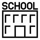 School Icon 128x128
