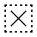 Selection Delete Icon 128x128