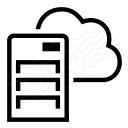 Server Cloud Icon 128x128