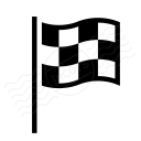 Signal Flag Checkered Icon 128x128