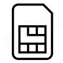 Sim Card Icon 128x128