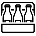 Sixpack Beer Icon 128x128