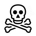 Skull 2 Icon 128x128