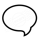 Speech Balloon Icon 128x128