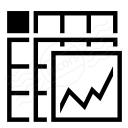 Spreadsheed Chart Icon 128x128
