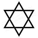 Star Of David Icon 128x128