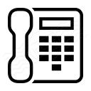Telephone Icon 128x128