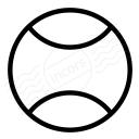 Tennis Ball Icon 128x128