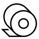Toilet Paper Icon 128x128