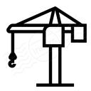 Tower Crane Icon 128x128