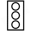 Trafficlight Off Icon 128x128
