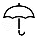 Umbrella Open Icon 128x128