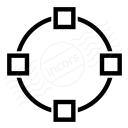 Vector Circle Icon 128x128