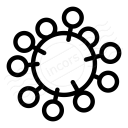 Virus Icon 128x128