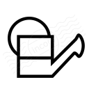 Watering Can Half Icon 128x128