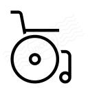 Wheelchair Icon 128x128