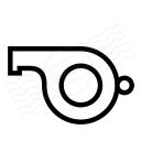 Whistle Icon 128x128