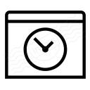 Window Time Icon 128x128