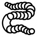 Worm Icon 128x128