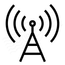 Iconexperience I Collection Antenna Icon