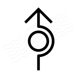 Arrow Around Icon 256x256