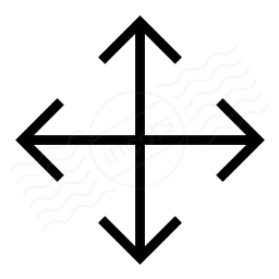 Arrow Cross Icon 256x256