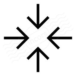 Arrow Join Icon 256x256