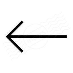 Arrow Left Icon 256x256